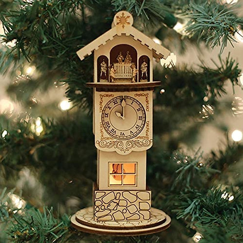 Ginger Clock Tower ..... Ginger Cottages Figurine / Ornament