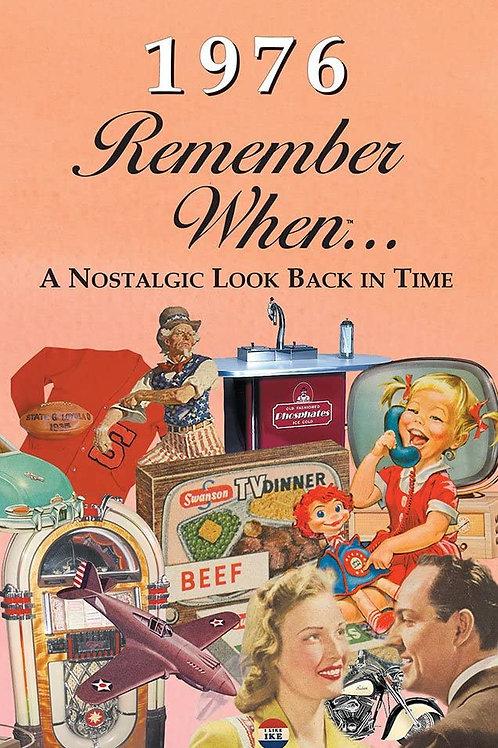 1976 Remember When Kardlet