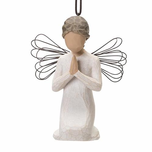 Angel of Prayer Ornament ..... Demdaco Willow Tree