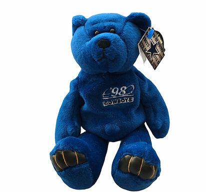 Limited Treasures Plush Bear .....  Dallas Cowboys Troy Aikman #8