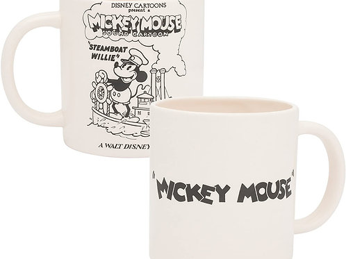 White Disney Mickey Mouse Steamboat Wille Mug