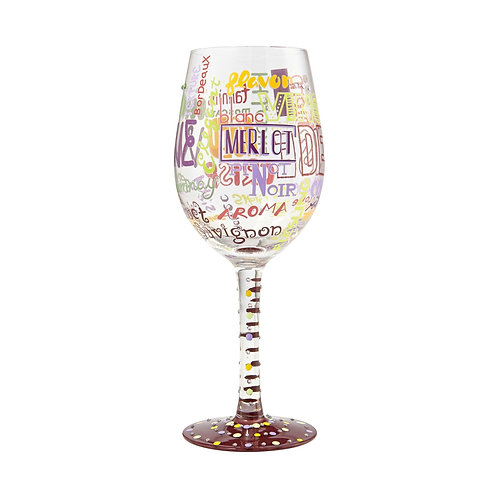 My Type of Wine Wine Glass