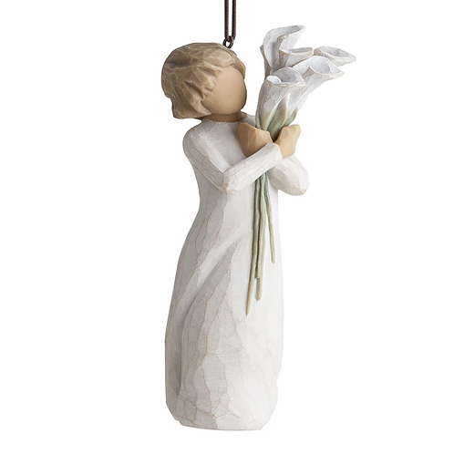 Beautiful Wishes Ornament ..... Willow Tree by Demdaco