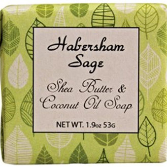 Habersham Sage ..... Shea Butter and Coconut Oil Soap ..... 1.9 oz.