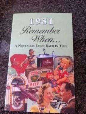 1981 Remember When Kardlet