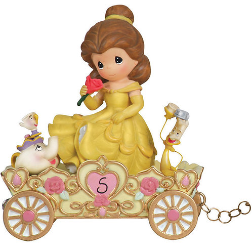 Disney Birthday Parade A Beauty To Behold At Five Years Old ... Belle ... Age 5