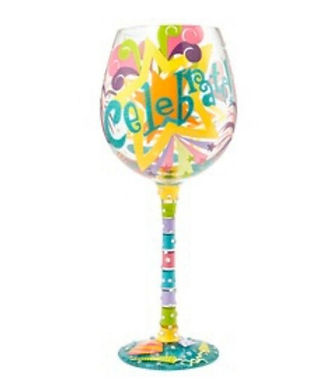 Lolita Celebrate Wine Glass