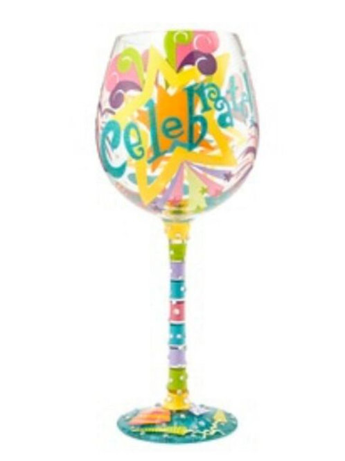 Lolita Celebrate Wine Glass