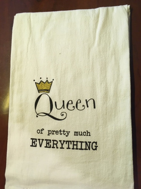 Queen of pretty much EVERYTHING ..... Bistro Towel