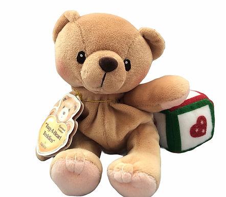 Cherished Teddies ..... Tan Bear with Block