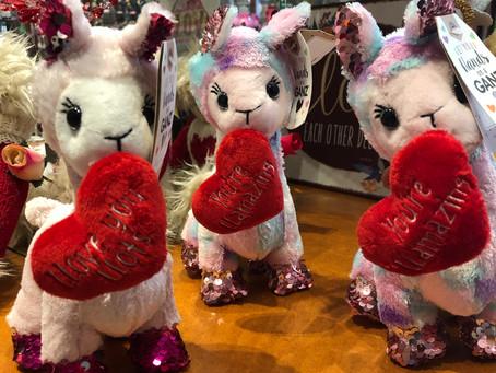 Valentine's Day Llamas