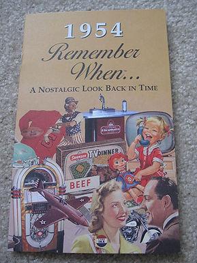 1954 Remember When Kardlet