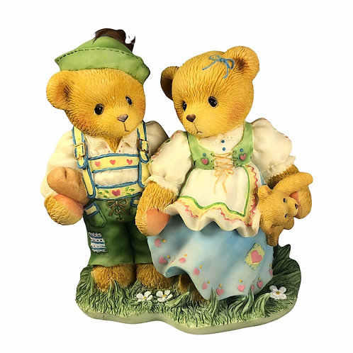 Harvey & Gigi,    Finding The Path To Your Heart     ....... Cherished Teddies