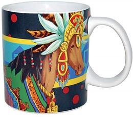 14oz ..... Aztec Queen Horse Mug