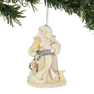 Santa's Forest Friends Ornament
