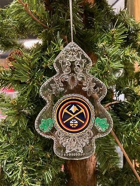 Nuggets Acylic Tree - Cut Crystal Design Ornament