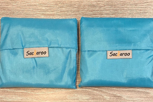 Blue Sacaroo Reusalbe Bags Set of 2