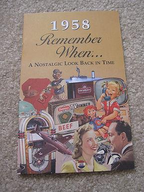 1958 Remember When Kardlet