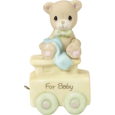 New Baby Birthday Train ..... May Your Birthday Be Warm