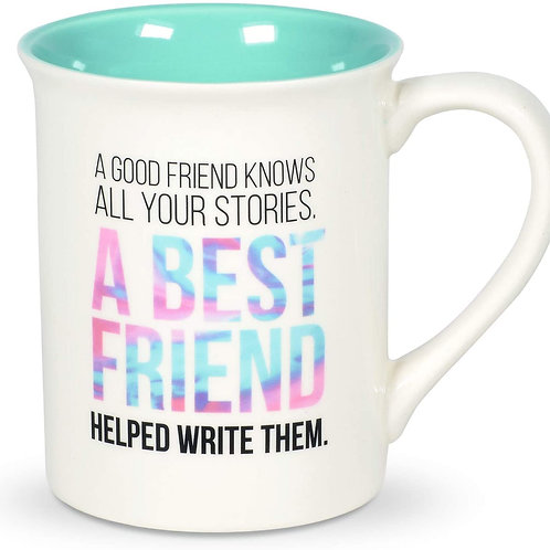 "16oz .....   "".... A Best Friend....."" Mug ..... by Our Name Is Mud"