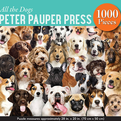 All The Dogs Puzzle by Peter Pauper Press