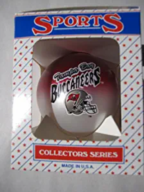 Buccaneers Two-Tone Ball Ornament