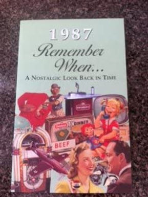 1987 Remember When Kardlet