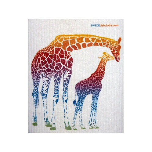 Giraffe Swedish Dishcloth