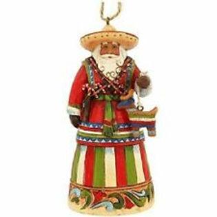 Mexican Santa Ornament