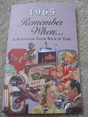 1965 Remember When Kardlet