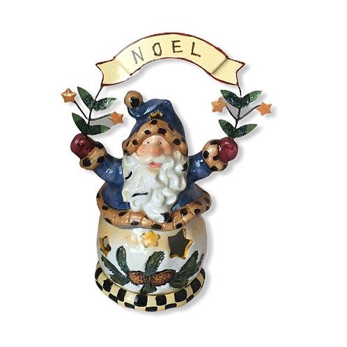 Noel Santa Tea Light Holder