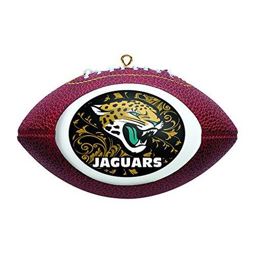 Jaguars Replica Football Ornament