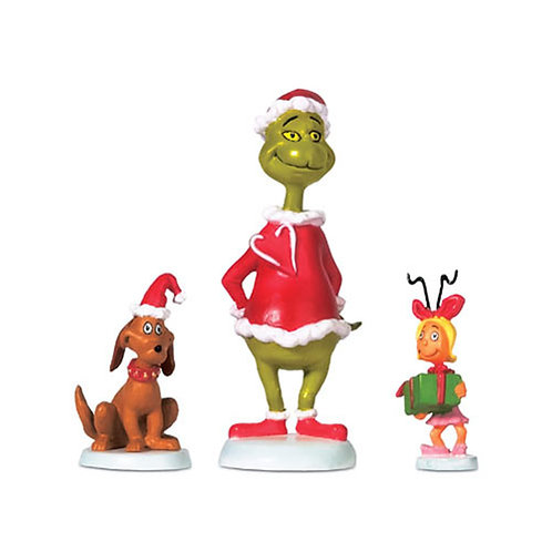 Grinch, Max, & Cindy-Lou Who