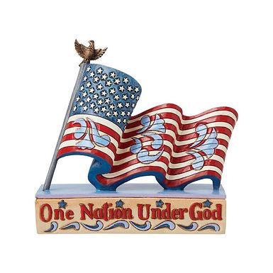Patriotic One Nation Flag