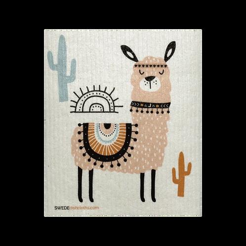 Tan Llama .......... Swedish Dishcloth