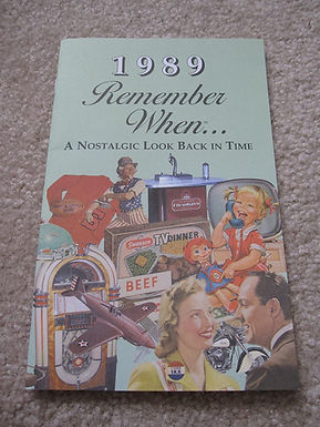 1989 Remember When Kardlet