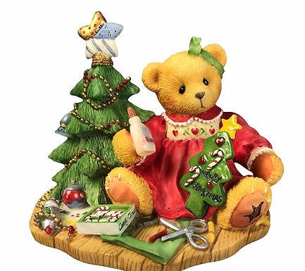Lynn,     A Handmade Holiday Wish....... Cherished Teddies Catalog Exclusive