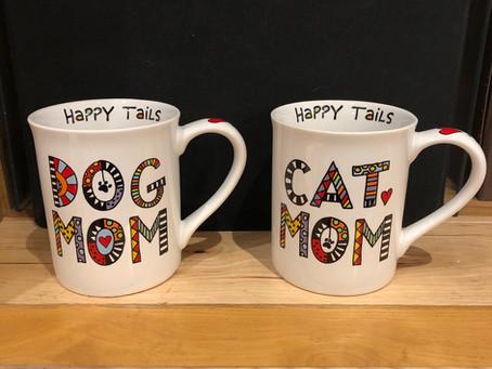 Dog Mom and Cat Mom Mug