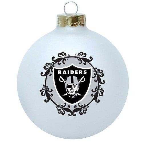 Raiders Large Ball Ornament