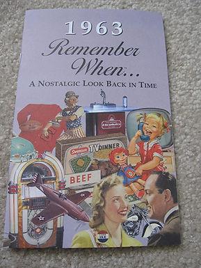 1963 Remember When Kardlet