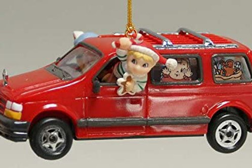 Mom's Taxi Ornament - Treasury of Christmas