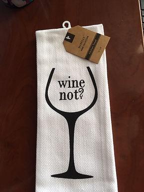 Wine Not? ..... Bistro Towel
