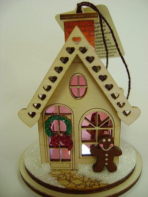 Gingerbread Cottage ..... Ginger Cottages Figurine / Ornament