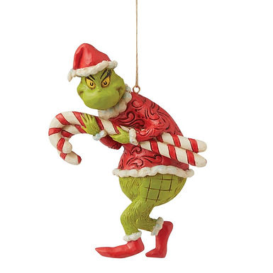 Grinch Candy Canes Ornament