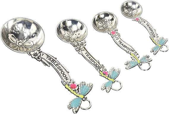 Four Dragonfly Measuring Spoon