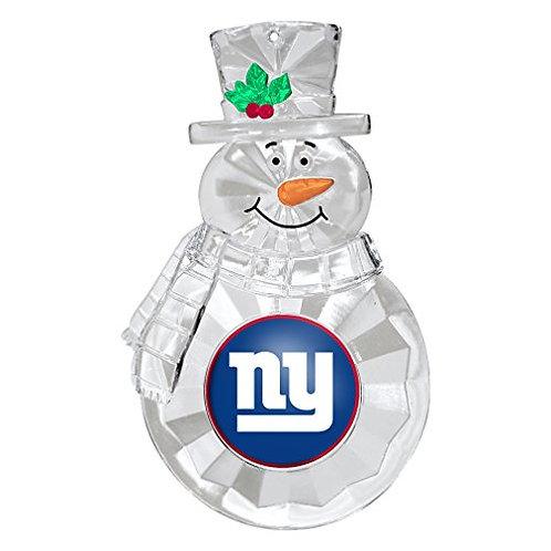 Giantss Acylic Snowman - Cut Crystal Design Ornament
