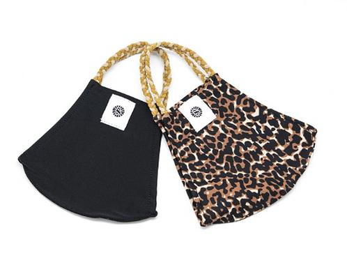 Pom Masks 2 Pack - Leopard