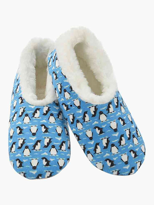 Snoozies Size Womens Medium - Penguins     WG2-PENG