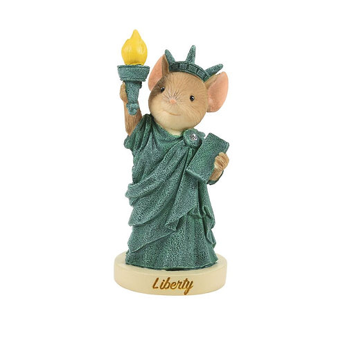 Lady Liberty Tails with Heart