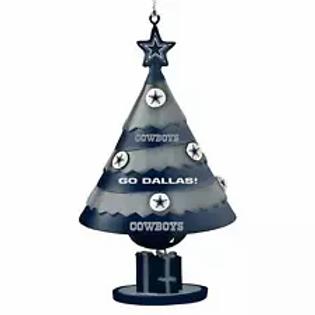 Cowboys Bell Tree Ornament